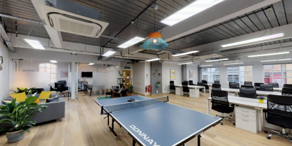 Flexible workspace guide